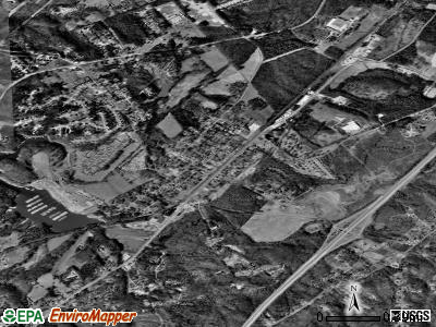 Ackley satellite photo by USGS