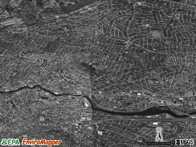 Watertown satellite photo by USGS