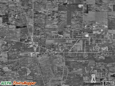 Franksville satellite photo by USGS