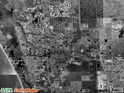 Bonita Springs satellite photo by USGS