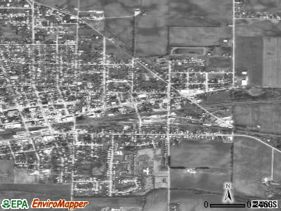 Union City satellite photo by USGS