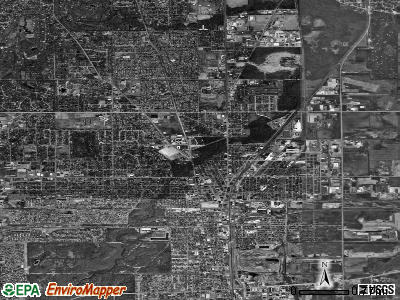 Chicago Heights satellite photo by USGS
