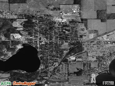 Cassopolis satellite photo by USGS