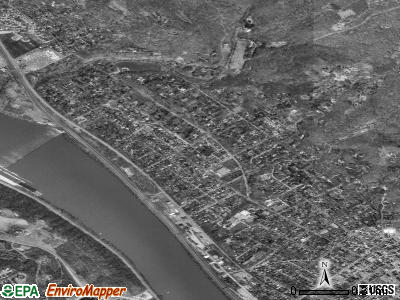 Edgeworth satellite photo by USGS