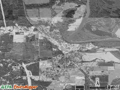 Grayville satellite photo by USGS