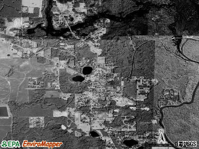 Wewahitchka satellite photo by USGS