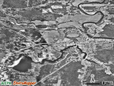 Conway satellite photo by USGS
