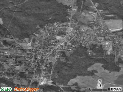 Oak Hill satellite photo by USGS