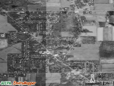 New Middletown satellite photo by USGS