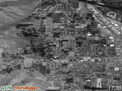 West Wenatchee satellite photo by USGS
