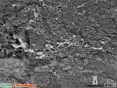 Tracy City satellite photo by USGS