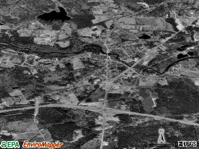 Epping satellite photo by USGS