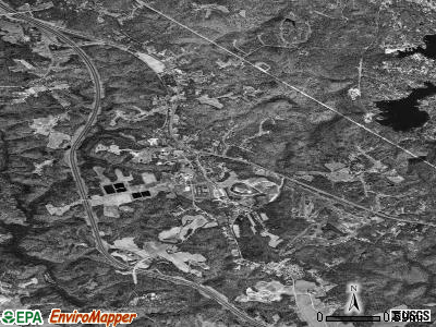 Crownsville satellite photo by USGS
