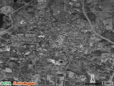 Lenox satellite photo by USGS