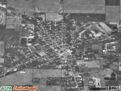Churubusco satellite photo by USGS