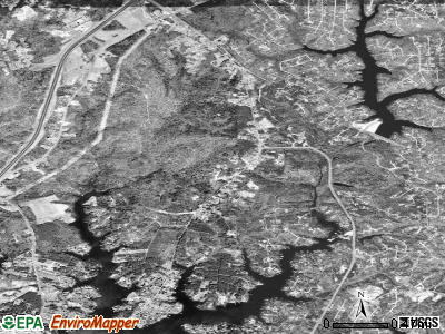 Lusby satellite photo by USGS
