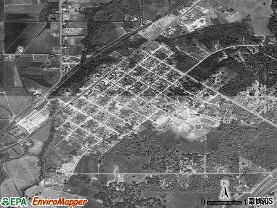 Potosi satellite photo by USGS