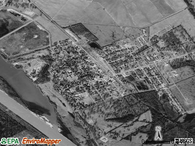North Corbin satellite photo by USGS