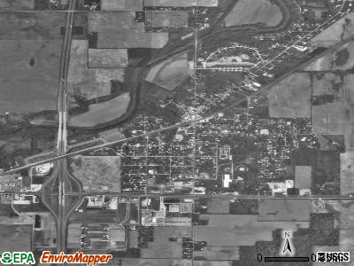 Daleville satellite photo by USGS