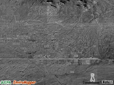 Apache Junction satellite photo by USGS