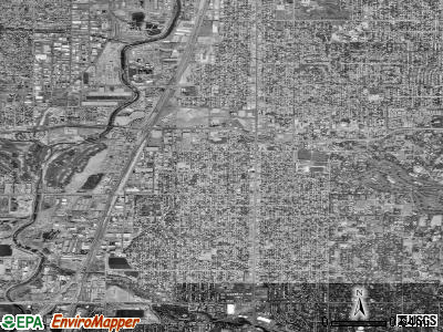 Englewood satellite photo by USGS