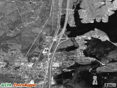 Logansport satellite photo by USGS