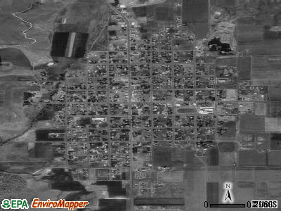Panguitch satellite photo by USGS