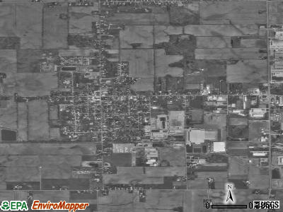 Wakarusa satellite photo by USGS