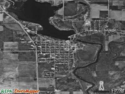 Nashua satellite photo by USGS