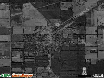 Trenton satellite photo by USGS