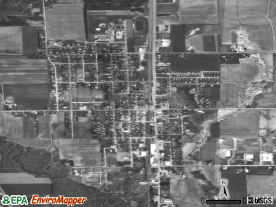 Colby satellite photo by USGS