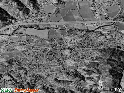 Salyersville satellite photo by USGS
