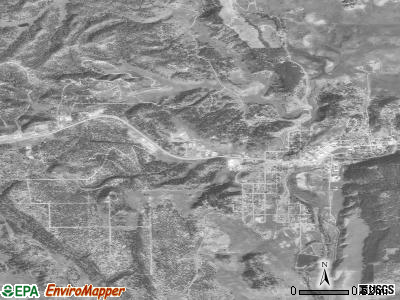 Pagosa Springs satellite photo by USGS