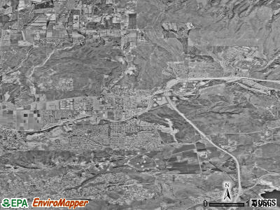 Moorpark satellite photo by USGS