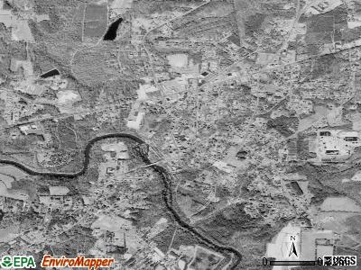 Ramseur satellite photo by USGS