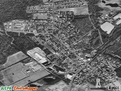 Farmingdale satellite photo by USGS