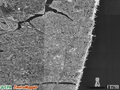 Long Branch satellite photo by USGS