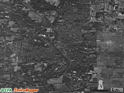 Massillon satellite photo by USGS