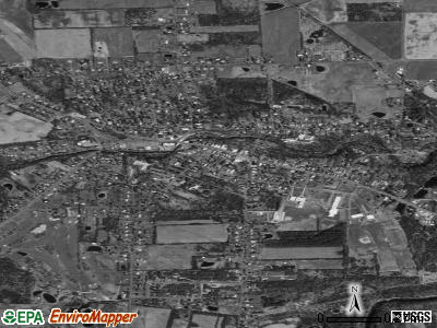 Trumansburg satellite photo by USGS