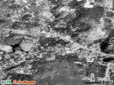 Canton Valley satellite photo by USGS