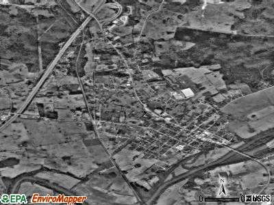 Munfordville satellite photo by USGS