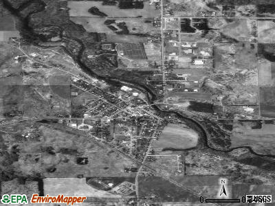 Somerset satellite photo by USGS