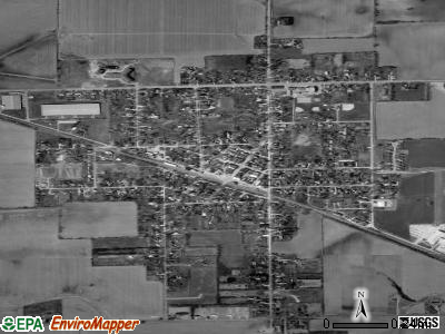 Sharon satellite photo by USGS