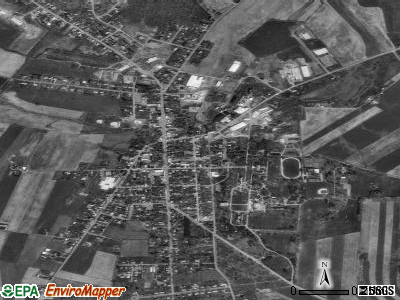 Mercersburg satellite photo by USGS