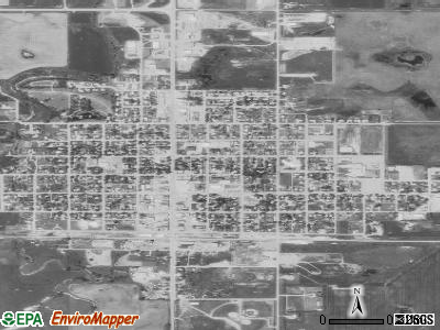 Henderson satellite photo by USGS