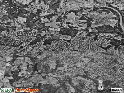 Randallstown satellite photo by USGS