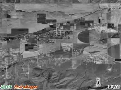 Herriman satellite photo by USGS