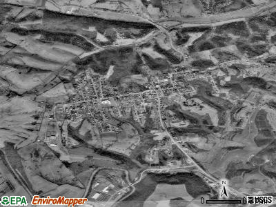 Owingsville satellite photo by USGS