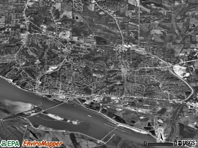 Alton satellite photo by USGS