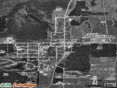 Kingsley satellite photo by USGS